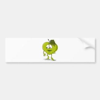 Adesivo Para Carro Folha engraçada do personagem de desenho animado