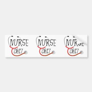 Adesivo Para Carro Formando 2017 da enfermeira