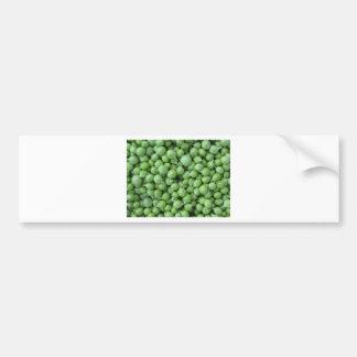 Adesivo Para Carro Fundo da ervilha verde. Textura de ervilhas verdes