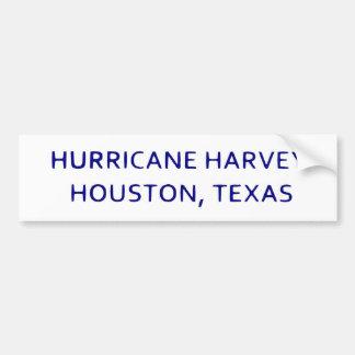 Adesivo Para Carro Furacão Harvey Houston, Texas Bumpersticker
