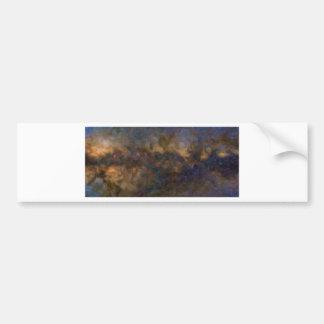 Adesivo Para Carro Galáxia abstrata de Milkyway com nuvem cósmica 3