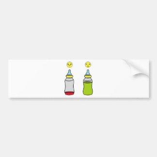 Adesivo Para Carro garrafa de bebê