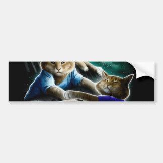 Adesivo Para Carro gato do teclado - música do gato - memes do gato