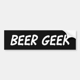 Adesivo Para Carro Geek da cerveja - etiqueta