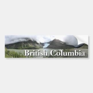 Adesivo Para Carro Geleiras do Columbia Britânica