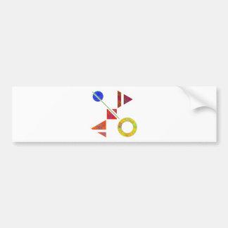 Adesivo Para Carro Genessium - nascimento dos maths