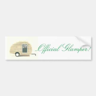 Adesivo Para Carro Glamper oficial! Caravana da lágrima