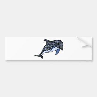 Adesivo Para Carro golfinho