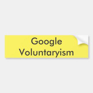 Adesivo Para Carro Google Voluntaryism
