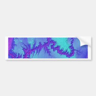 Adesivo Para Carro Grand Canyon do estilo brilhante da nebulosa do