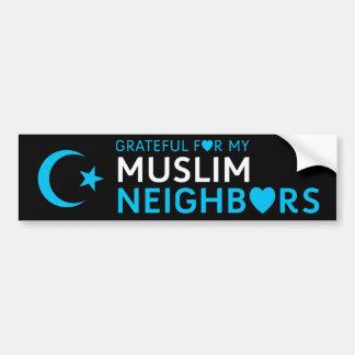 Adesivo Para Carro Grato para meu vizinho muçulmano