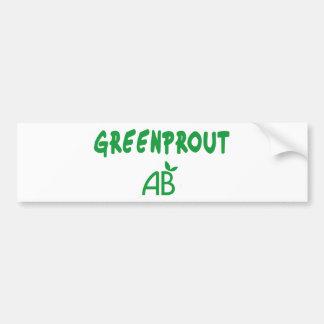 Adesivo Para Carro Greenprout ecológico