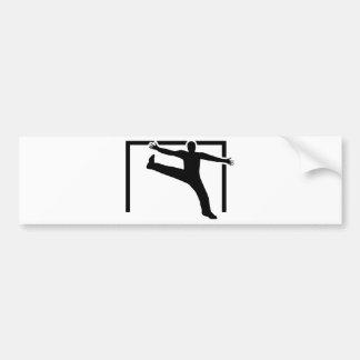 Adesivo Para Carro Guarda-redes do handball