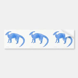 Adesivo Para Carro Hadrosaur azul