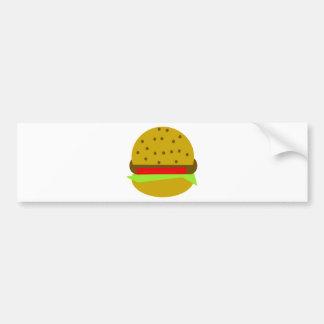 Adesivo Para Carro Hamburguer do fast food da comida do Hamburger