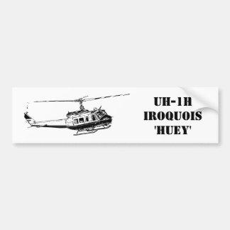 Adesivo Para Carro Helicóptero do Iroquois da etiqueta UH-1H