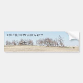Adesivo Para Carro Herdade abandonada da pradaria em North Dakota #3B