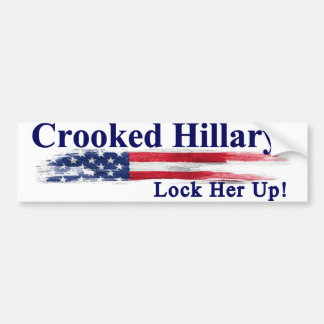 Adesivo Para Carro Hillary curvada trava-a acima