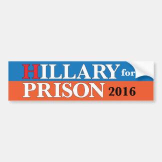 """Adesivo Para Carro """"Hillary para autocolante no vidro traseiro da"""