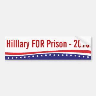 Adesivo Para Carro Hillary para Prision 2016