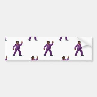 Adesivo Para Carro Homem da dança de Emoji