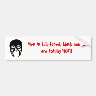 Adesivo Para Carro Homens em máscaras pretas….