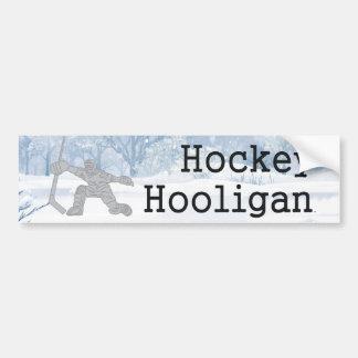 Adesivo Para Carro Hooligan SUPERIOR do hóquei