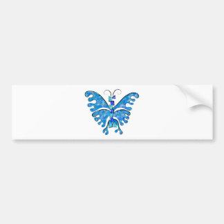 Adesivo Para Carro Icelonius - borboleta azul do gelo
