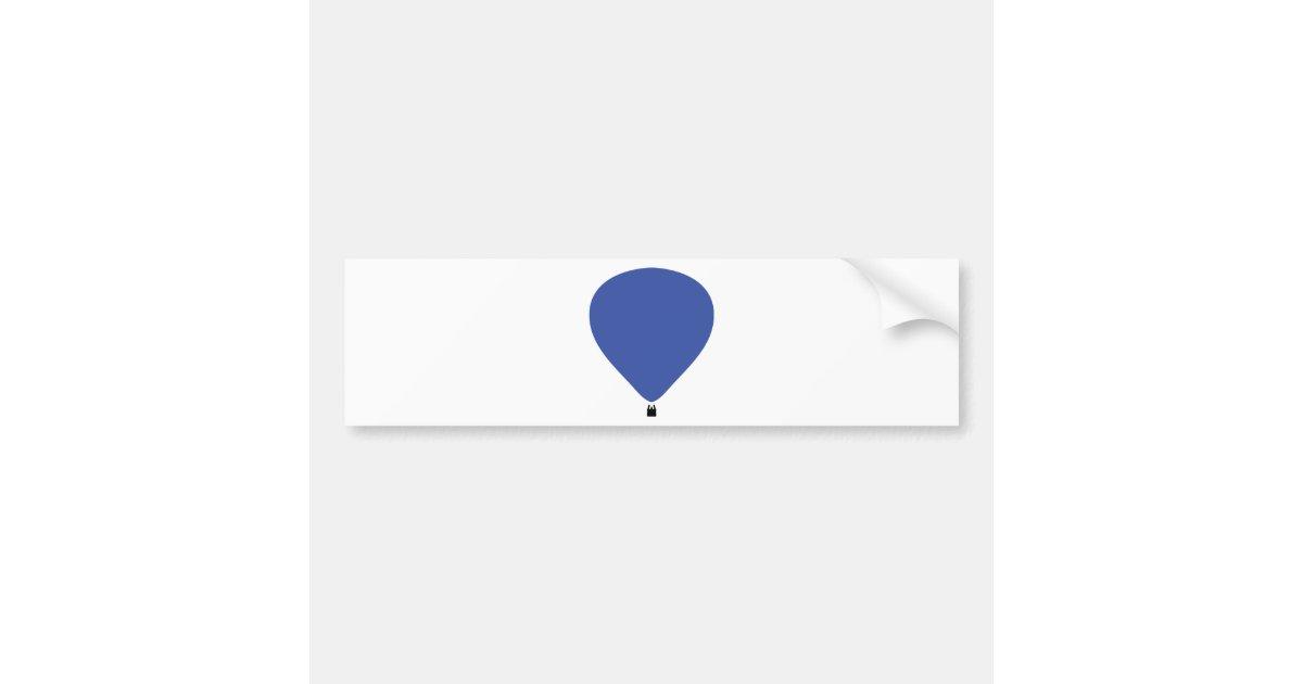 Adesivos De Caminhao Qualificados ~ Adesivo Para Carroícone azul do bal u00e3o de ar quente Zazzle com br