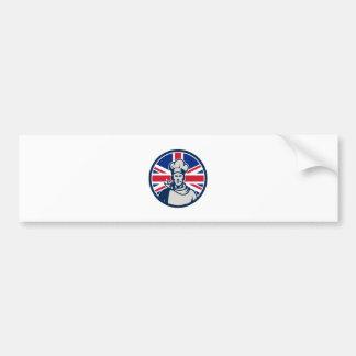 Adesivo Para Carro Ícone britânico da bandeira de Union Jack do
