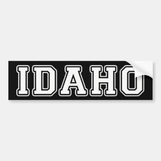 Adesivo Para Carro Idaho