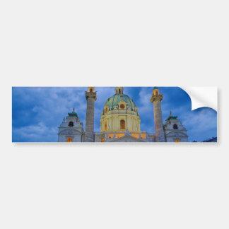 Adesivo Para Carro Igreja do santo Charles, Viena
