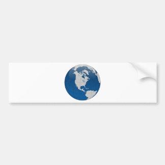 Adesivo Para Carro Impressão de alta qualidade da terra azul