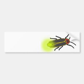 Adesivo Para Carro inseto de relâmpago leve