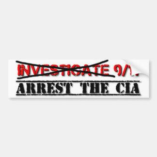 Adesivo Para Carro Investigue 9/11: Prenda o CIA