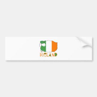Adesivo Para Carro Ireland
