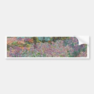 Adesivo Para Carro Íris no jardim de Monet