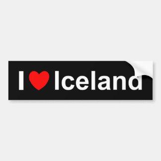 Adesivo Para Carro Islândia