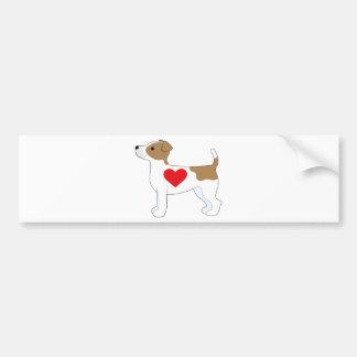 Adesivo Para Carro Jack Russell Terrier