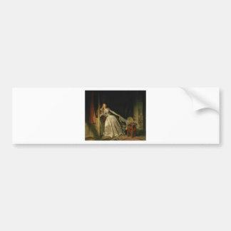 Adesivo Para Carro Jean-Honore Fragonard - o beijo roubado - belas