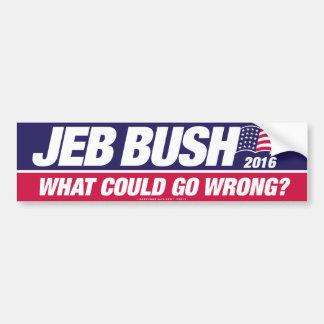 Adesivo Para Carro Jeb Bush 2016