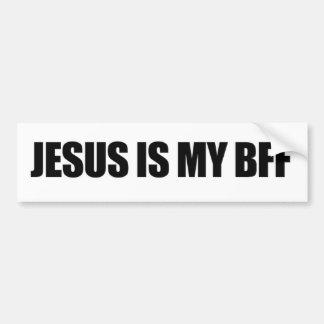 Adesivo Para Carro Jesus é meu autocolante no vidro traseiro de BFF