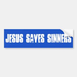 Adesivo Para Carro Jesus salvar o autocolante no vidro traseiro dos