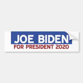 Adesivo Para Carro Joe Biden para o presidente 2020