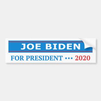 Adesivo Para Carro Joe Biden para o presidente 2020 luz - azul