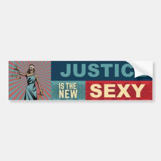"Adesivo Para Carro Justiça é o autocolante no vidro traseiro ""sexy"""