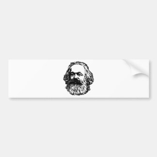 Adesivo Para Carro Karl Marx - comunismo