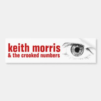 Adesivo Para Carro Keith Morris & autocolante no vidro traseiro