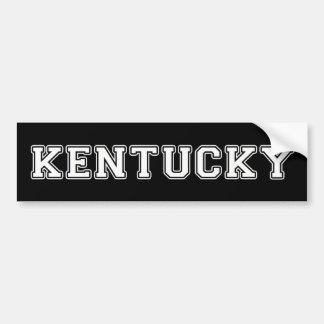 Adesivo Para Carro Kentucky