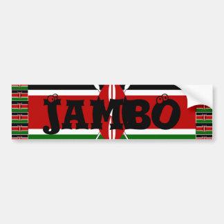 Adesivo Para Carro Kenya Hakuna Matata e mim ama Kenya